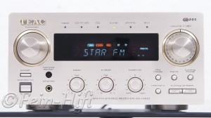 TEAC AG-H300 Stereo Receiver im Midi Format champagner