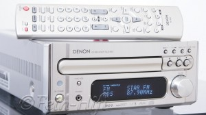 Denon RCD-M33 2.1 CD-Receiver hell champagner