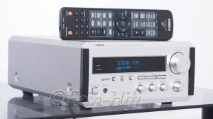 Yamaha RX-E200 Stereo 2.1 Receiver silber