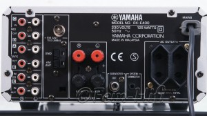 Yamaha RX-E400 Stereo 2.1 Receiver silber