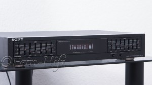 Sony SEQ-411 Grafik Equalizer 7-Band Sprectrum Analyzer