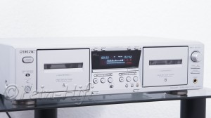 Sony TC-WE475 autoreverse Doppelkassettendeck in silber