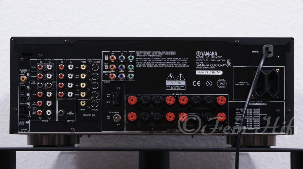 Yamaha Rx V550 инструкция на русском - фото 9