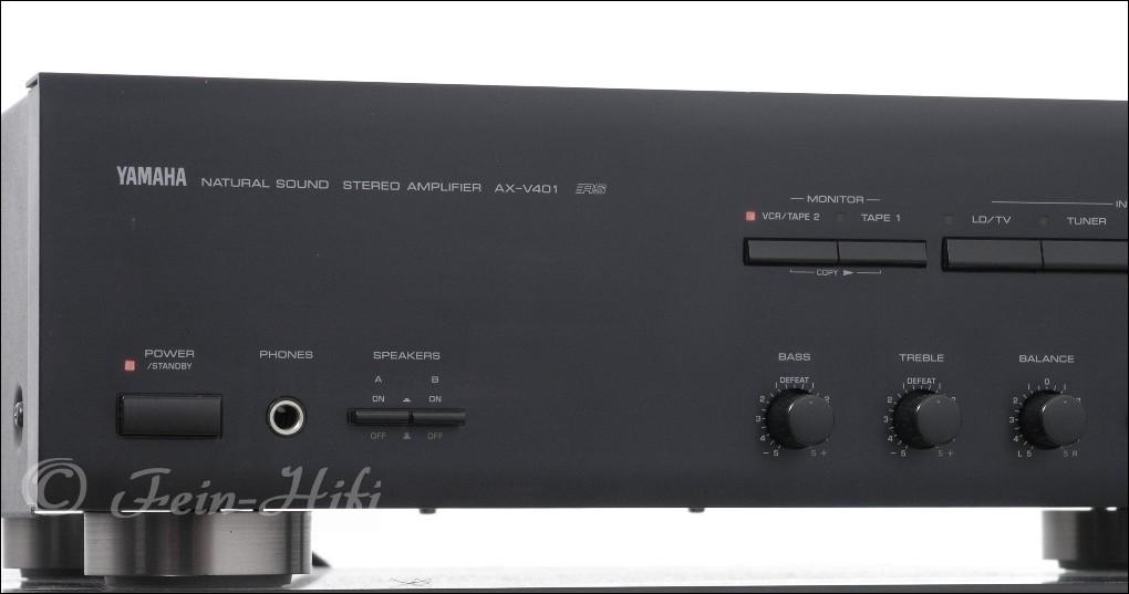 yamaha ax v 401 stereo verst rker. Black Bedroom Furniture Sets. Home Design Ideas