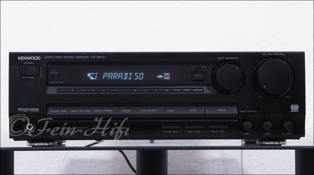 Pioneer Av Receiver >> Kenwood KR-V6070 Stereo / Surround AV Receiver - gebraucht