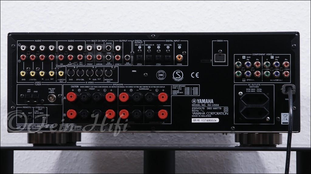Yamaha Rx V Surround Sound