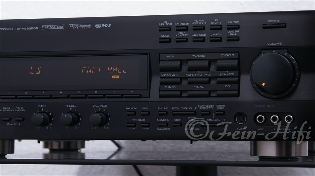 Yamaha Enhanced Cinema Dsp