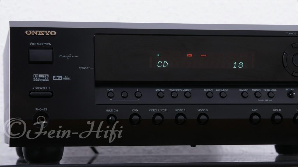 Onkyo ht r340 dolby digital dts av receiver for Onkyo or yamaha receiver