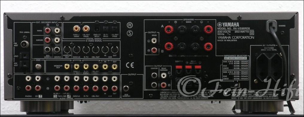 Yamaha rx v596 car interior design for Yamaha receiver customer support phone number