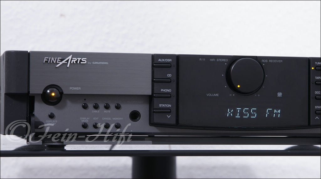 grundig fine arts r11 stereo hifi receiver gebraucht. Black Bedroom Furniture Sets. Home Design Ideas