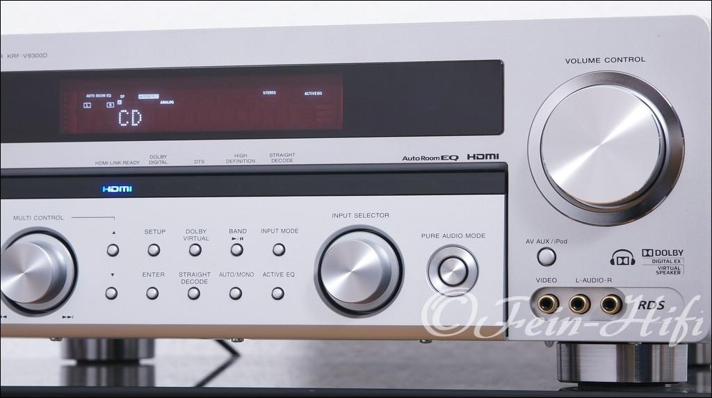 Kenwood KRF-V9300D Digital 7.1 Heimkino Receiver mit HDMI