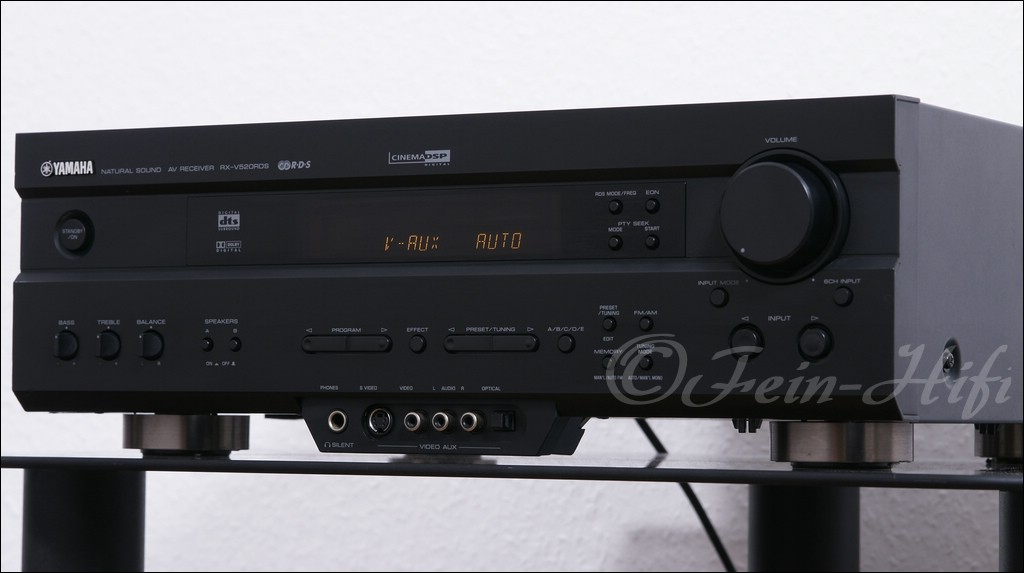 yamaha rx v520 digital 5 1 heimkino av receiver gebraucht. Black Bedroom Furniture Sets. Home Design Ideas
