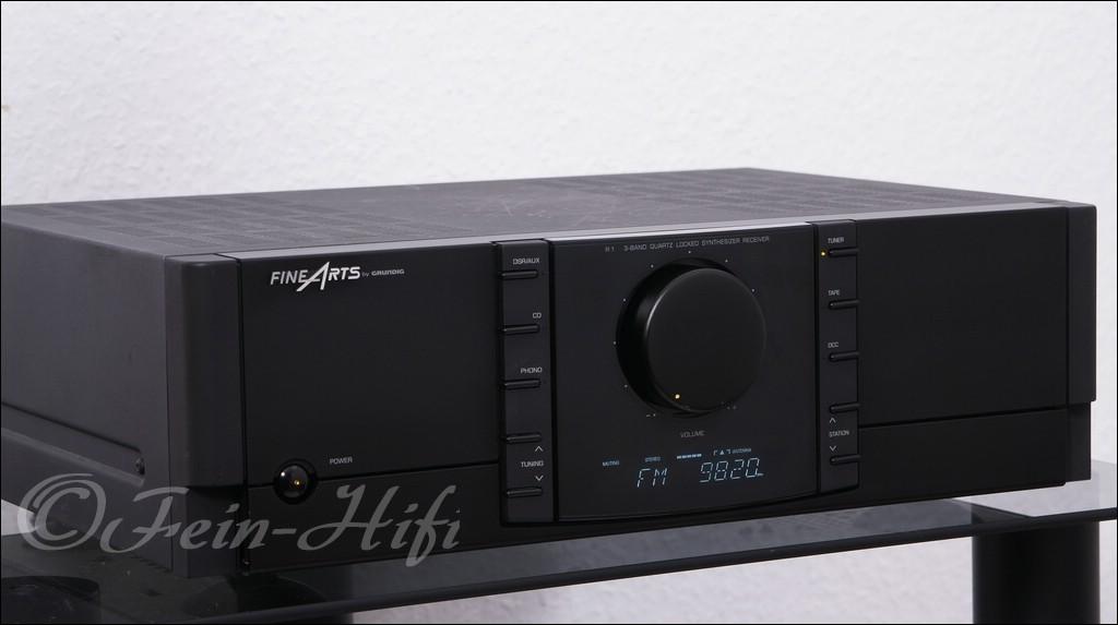 grundig fine arts r1 stereo receiver gebraucht fein hifi. Black Bedroom Furniture Sets. Home Design Ideas