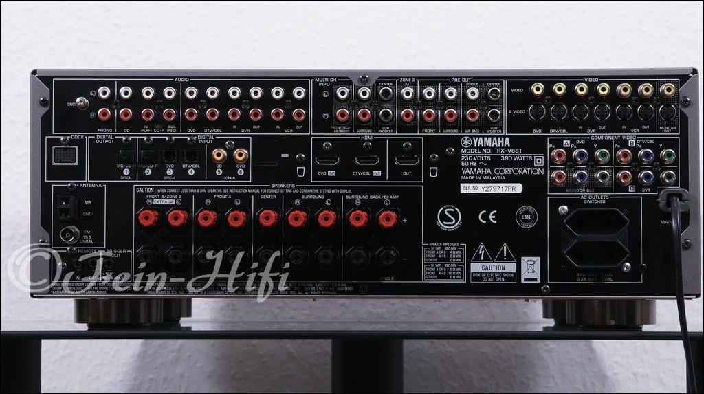 Yamaha Receiver Rx V