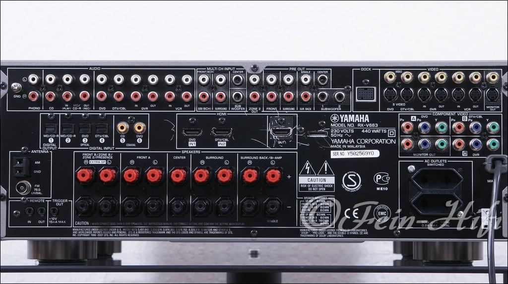 Yamaha Av Receiver Rx V Manual
