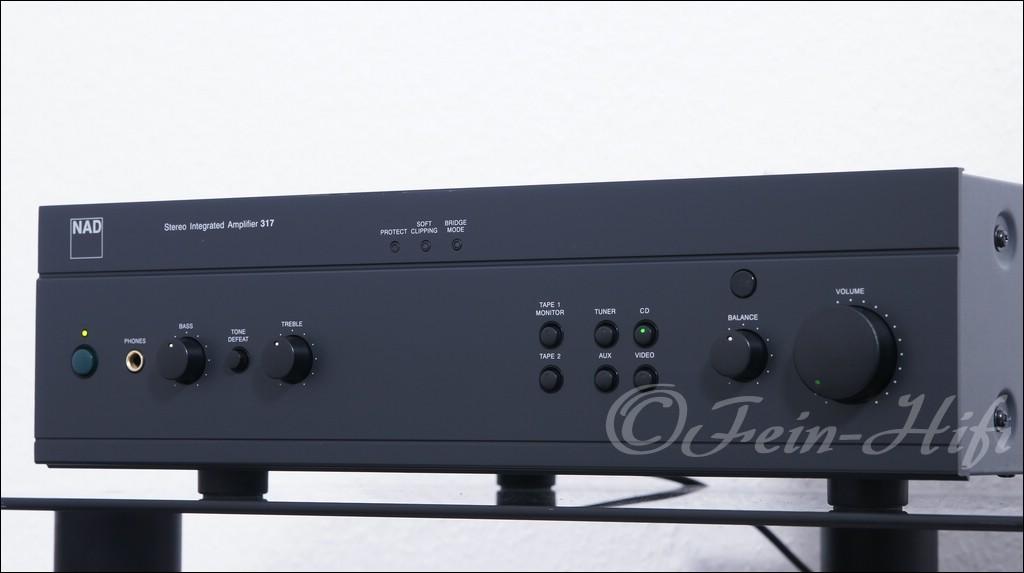nad 317 highend stereo verst rker amplifier gebraucht. Black Bedroom Furniture Sets. Home Design Ideas