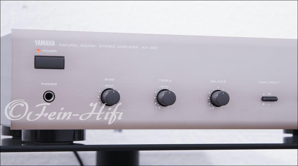 yamaha ax 350 stereo vollverst rker titan fein hifi. Black Bedroom Furniture Sets. Home Design Ideas