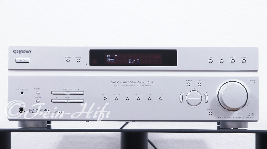 sony str k785 dolby digital 5 1 receiver gebraucht fein hifi. Black Bedroom Furniture Sets. Home Design Ideas