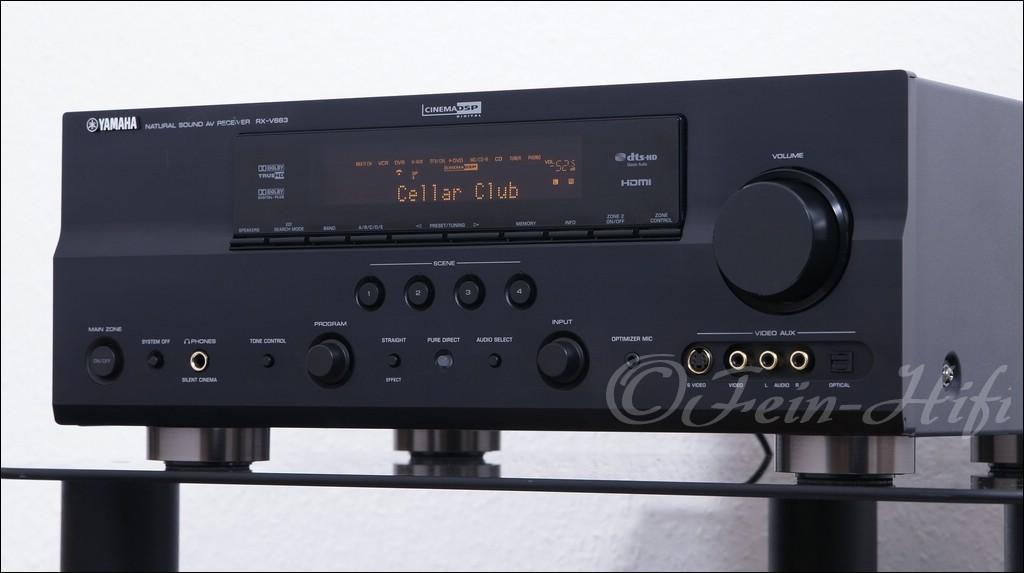 yamaha rx v663 hdmi dolby digital 7 1 heimkino av receiver