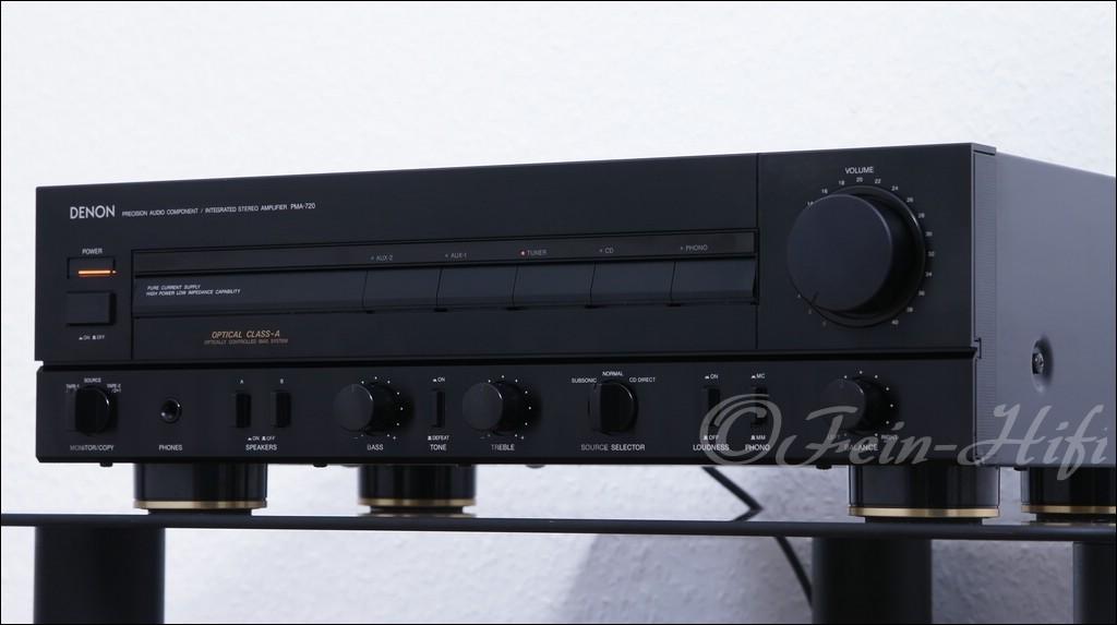 denon pma 720 class a stereo verst rker gebraucht fein hifi. Black Bedroom Furniture Sets. Home Design Ideas