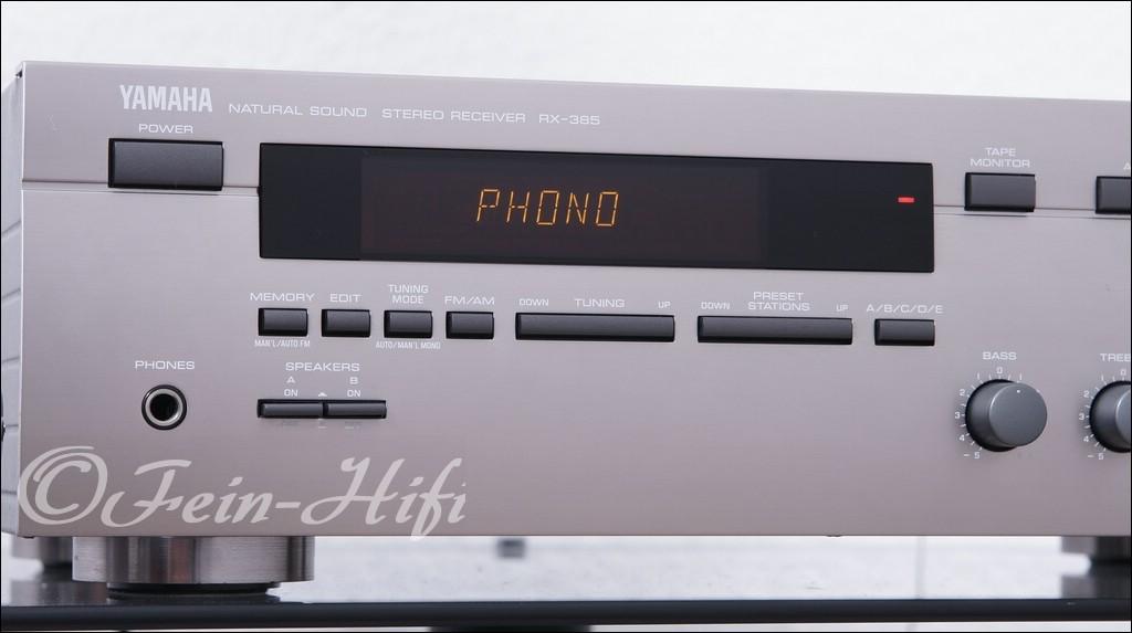 yamaha rx 385 gebrauchter stereo receiver fein hifi shop. Black Bedroom Furniture Sets. Home Design Ideas