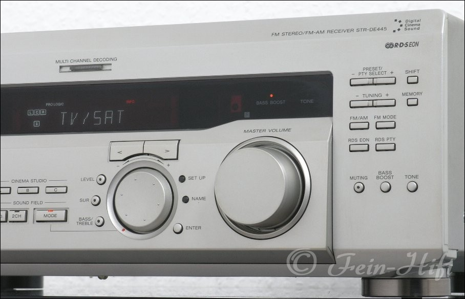 Dolby Surround Verstärker : sony str de445 dolby digital dts 5 1 av receiver ~ Aude.kayakingforconservation.com Haus und Dekorationen