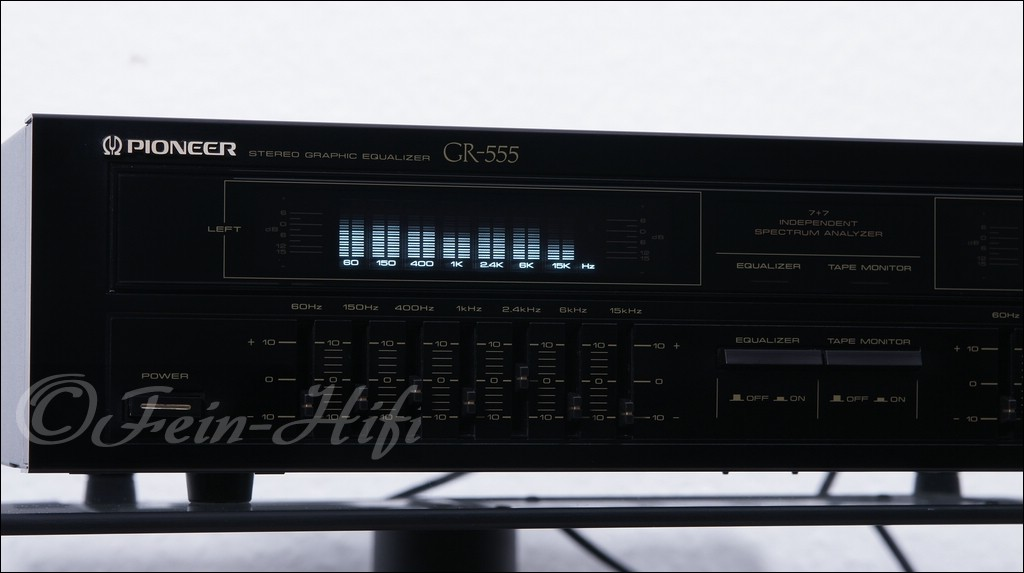 Pioneer GR-555 Stereo Graphic Equalizer - gebraucht | Fein
