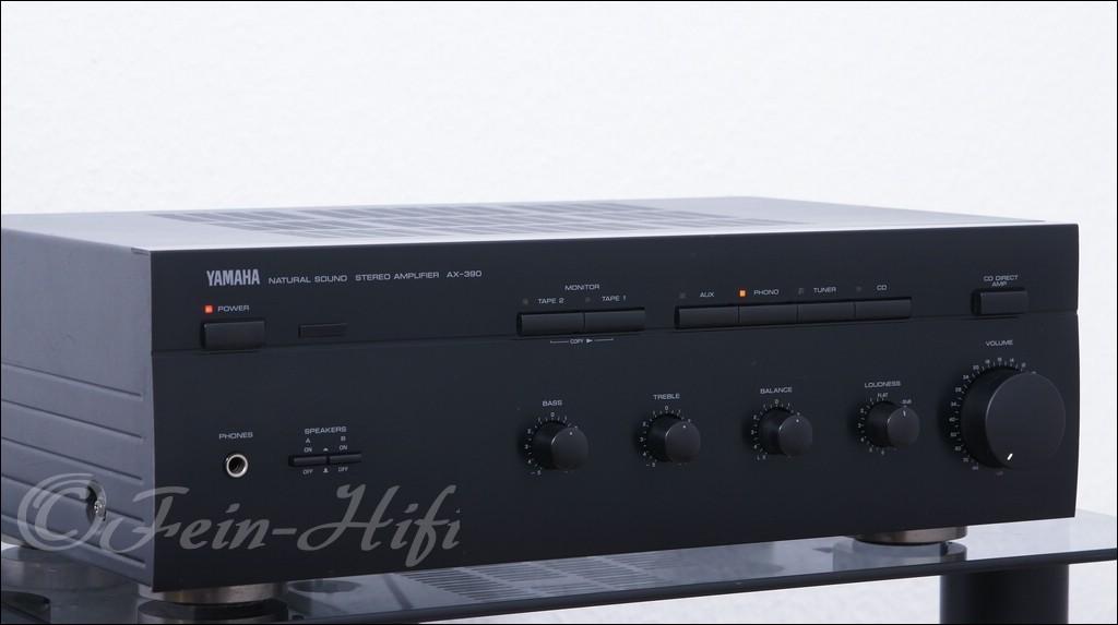 yamaha ax 390 stereo verst rker. Black Bedroom Furniture Sets. Home Design Ideas