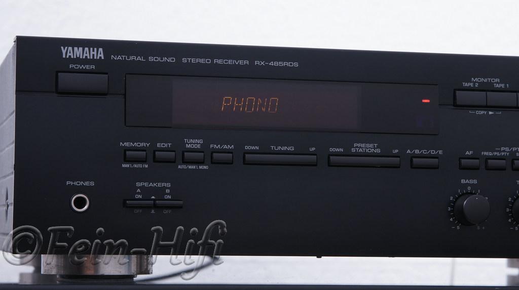yamaha rx 485rds stereo receiver mit fernbedienung gebraucht. Black Bedroom Furniture Sets. Home Design Ideas