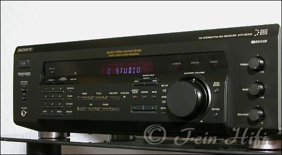 Pioneer Av Receiver >> Sony STR-DE 335 Dolby Surround AV Receiver | FEIN-HIFI