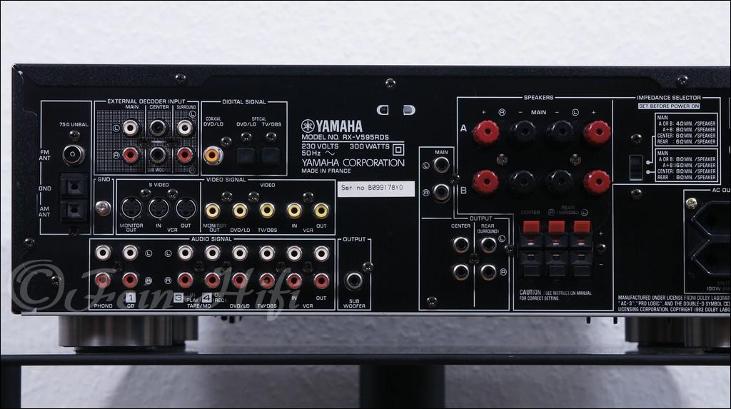 Yamaha Rx V