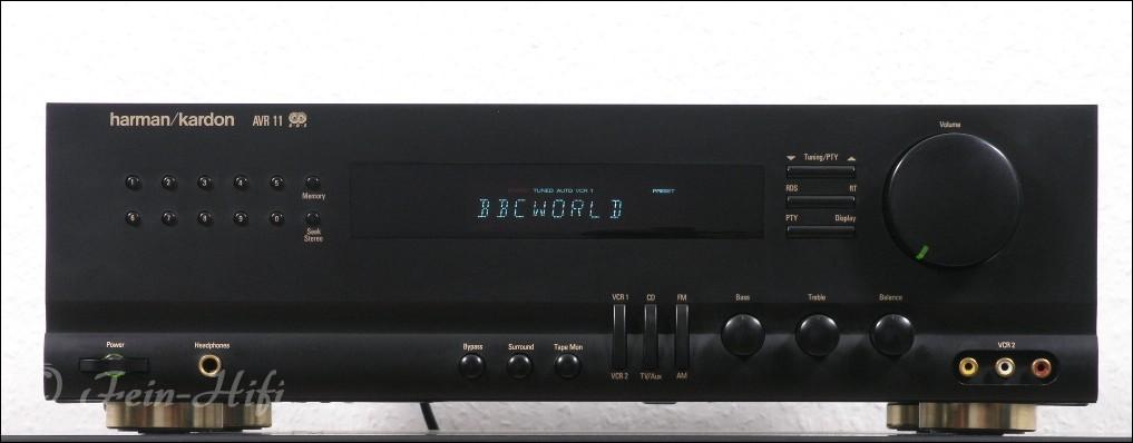 harman kardon avr 11 stereo surround receiver gebraucht. Black Bedroom Furniture Sets. Home Design Ideas