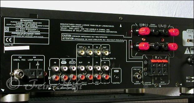 Pioneer VSX-405 MKII Dolby Surround Receiver Verstärker o.f.