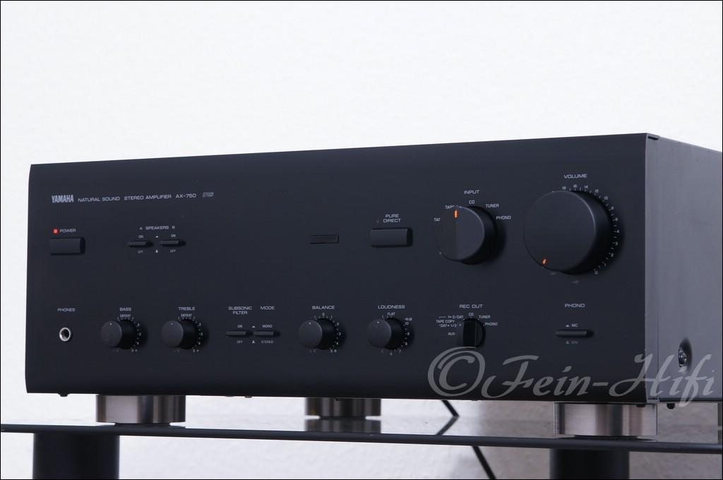 yamaha ax 750 14kg schwerer stereo verst rker bolide. Black Bedroom Furniture Sets. Home Design Ideas