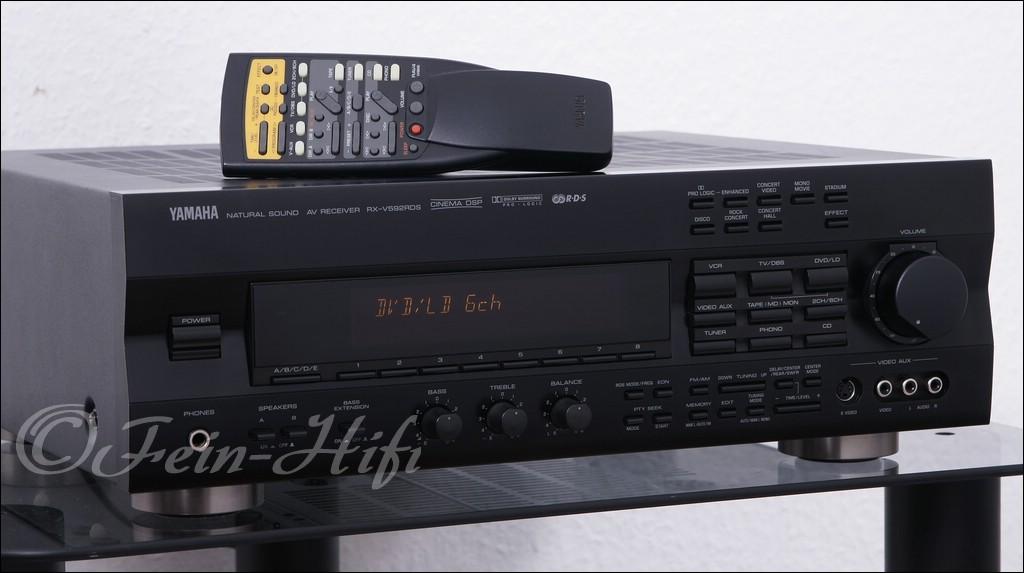Yamaha Rx V Analog