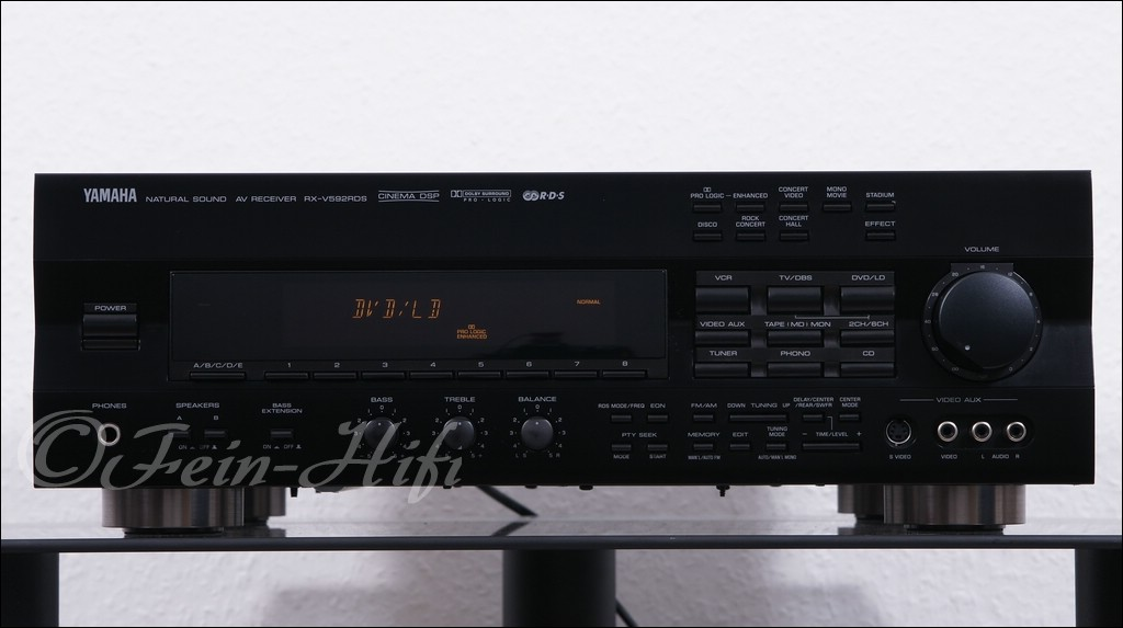 yamaha rx v592 dolby surround av receiver gebraucht. Black Bedroom Furniture Sets. Home Design Ideas