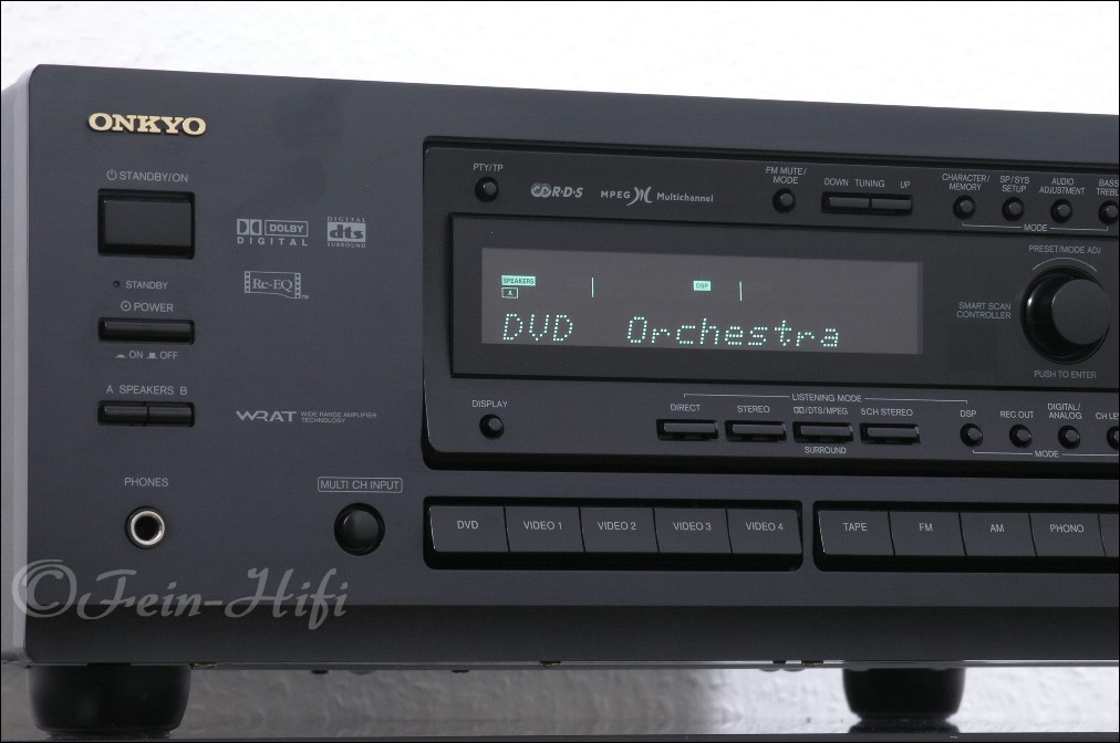 Onkyo tx ds676 dolby digital dts av receiver fein hifi shop for Onkyo or yamaha receiver