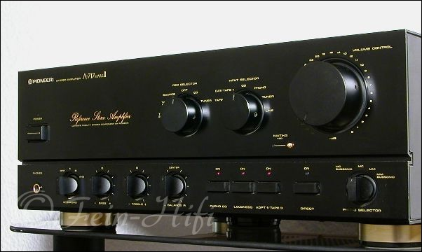 pioneer a 717 mkii reference stereo verst rker fein hifi. Black Bedroom Furniture Sets. Home Design Ideas