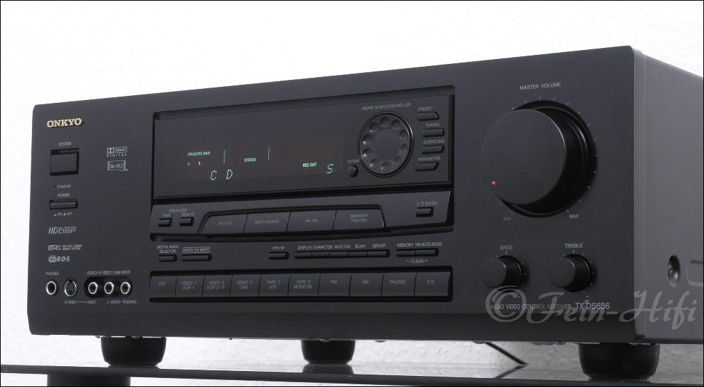 Onkyo tx ds656 dolby digital av receiver gebraucht for Onkyo or yamaha receiver