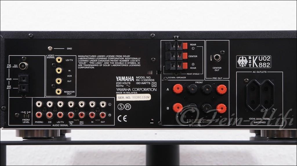 Yamaha Av Receiver Rx V Review