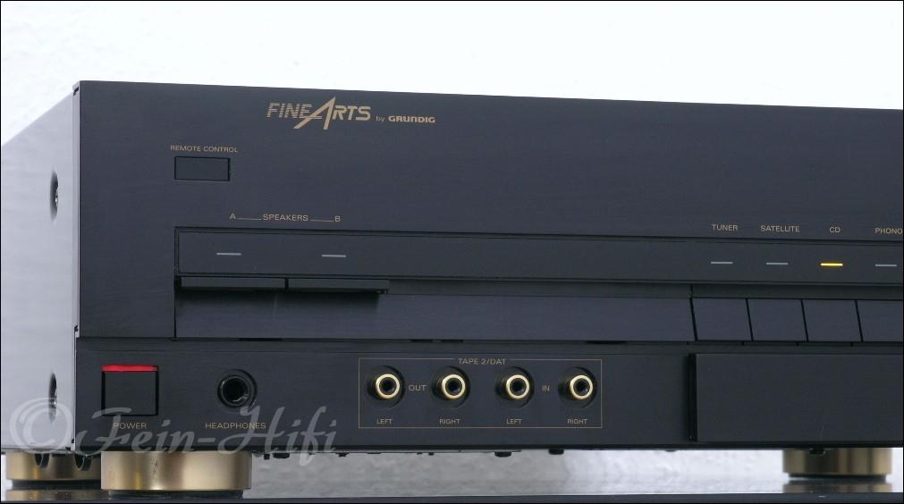 grundig fine arts a 904 highend stereo verst rker. Black Bedroom Furniture Sets. Home Design Ideas