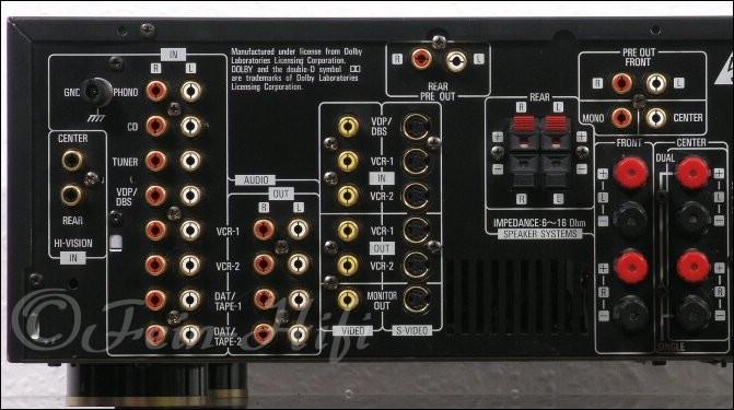 denon avc 2530 stereo dolby surround verst rker. Black Bedroom Furniture Sets. Home Design Ideas