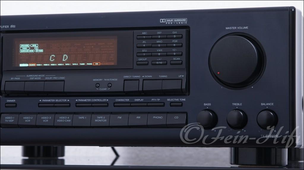 Onkyo tx sv727 stereo surround av receiver gebraucht for Onkyo or yamaha receiver