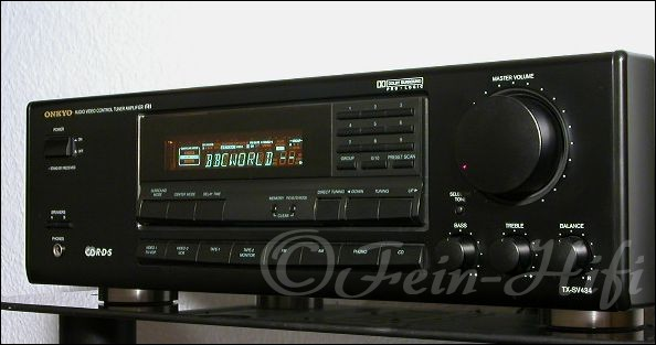 Onkyo tx sv434 stereo dolby surround receiver for Onkyo or yamaha receiver