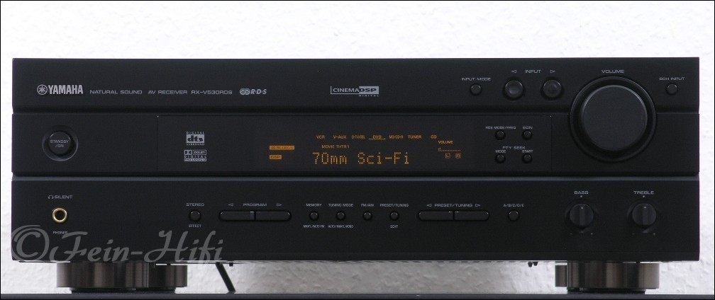 yamaha rx v530rds digital heimkino av receiver gebraucht. Black Bedroom Furniture Sets. Home Design Ideas