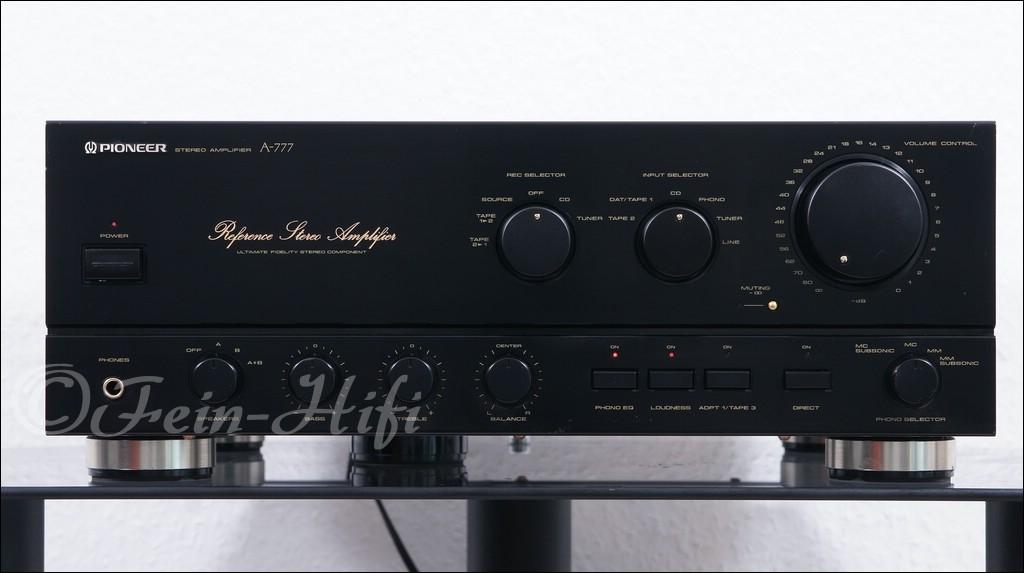 pioneer a 777 high end stereo verst rker 19 kg bolide. Black Bedroom Furniture Sets. Home Design Ideas