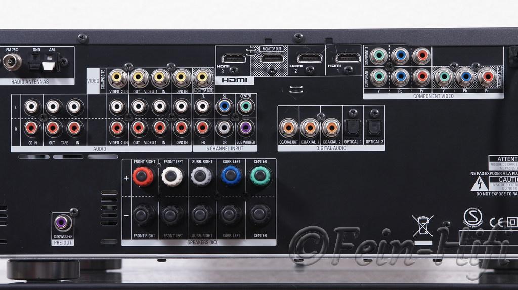 Yamaha Av Receiver V  Manual