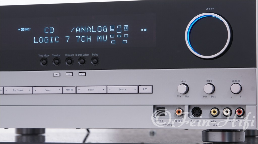 Harman Kardon AVR 330 Dolby Digital DTS 7.1 AV Receiver