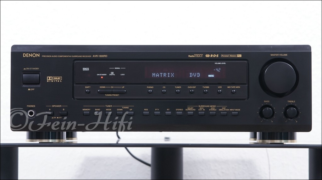denon avr 1600 dolby digital 5 1 receiver verst rker. Black Bedroom Furniture Sets. Home Design Ideas