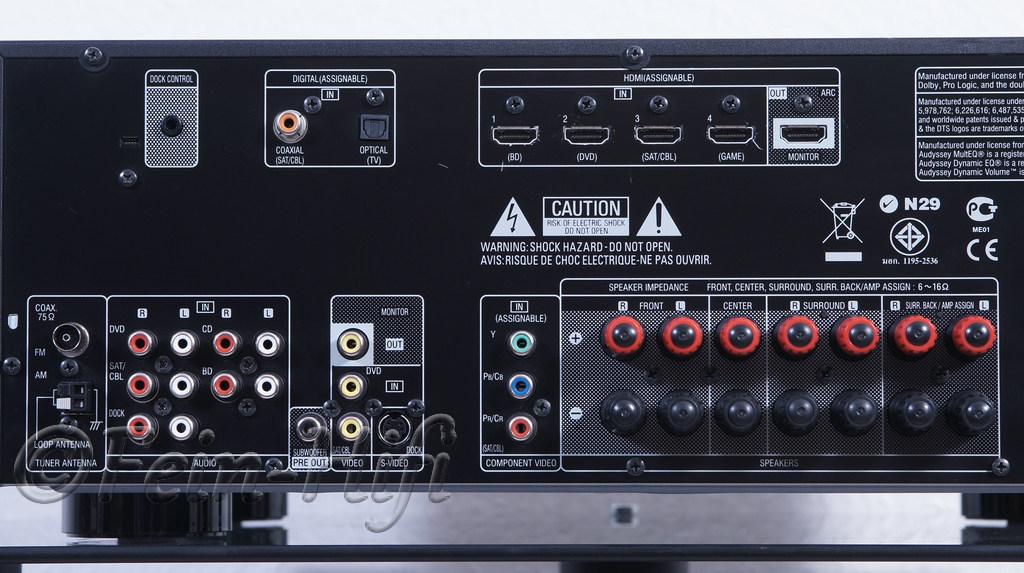 Denon AVR-1911 Digital 7.1 HDMI Heimkino AV-Receiver